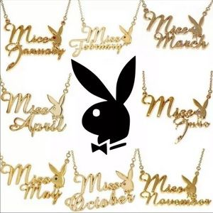 Playboy miss months necklace birthstone playmate